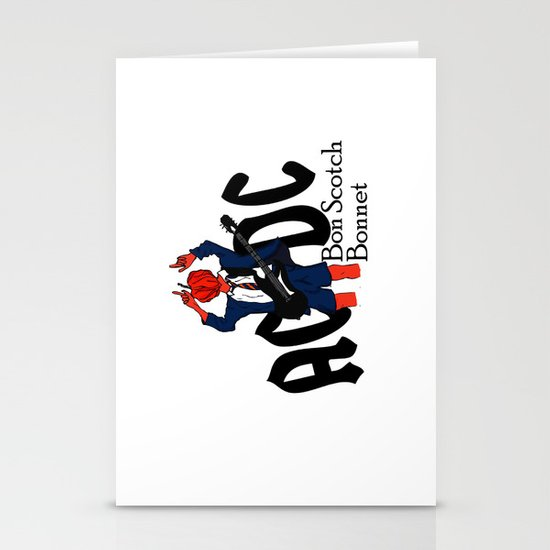 Bon Scot Stationery Card