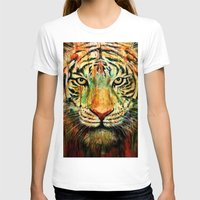tiger T-shirts featuring Tiger by nicebleed