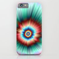 iPhone & iPod Case featuring Tie Dye Comet by Objowl