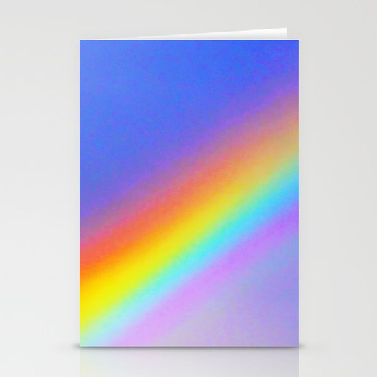 rainbow Stationery Card