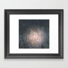 The light of the moon Framed Art Print