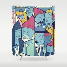 The Life Acquatic with Steve Zissou Shower Curtain