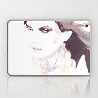 Fashion Illustration In … Laptop & iPad Skin