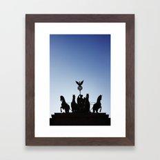 Brandenburg Tor Framed Art Print