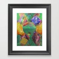 Mineral Galaxy Framed Art Print