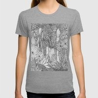 Jungle Womens Fitted Tee Tri-Grey SMALL
