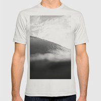 Under Lip Mens Fitted Tee Silver SMALL
