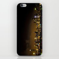 Chicago at Night iPhone & iPod Skin