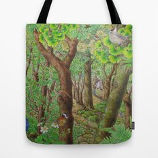 A Day of Forest (2). (sunshine forest) Tote Bag