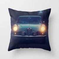 1957 Alfa Romeo 1900 SS  Throw Pillow