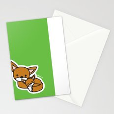 Sweet Fox Stationery Cards