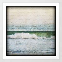 Seaside Love Art Print