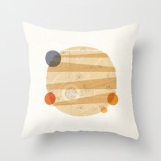 Jupiter I Throw Pillow