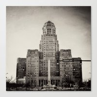 Down Town Buffalo NY Cit… Canvas Print