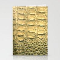 Snakeskin Stationery Cards