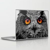 Laptop & iPad Skin featuring YOU'RE THE ORANGE OF MY EYES by Catspaws