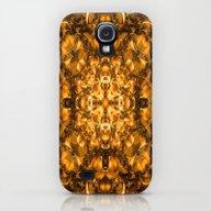 Golden Kaleidoscope Galaxy S4 Slim Case