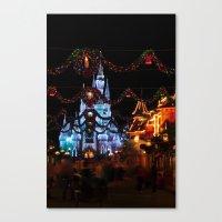 Christmas Castle I Canvas Print