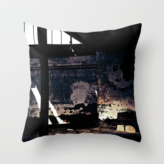 Decline Throw Pillow