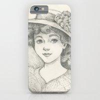 Sketch of an Edwardian Lady iPhone 6 Slim Case