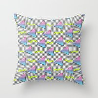 Fun Pattern Throw Pillow