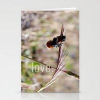 mariquitas - ladybug Stationery Cards