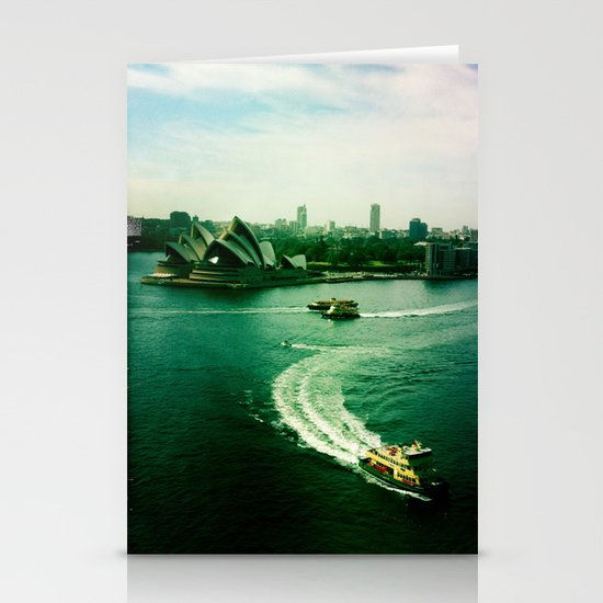 Sydney Harbour Opera House Stationery Card