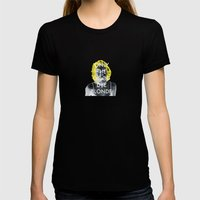 Blondie Womens Fitted Tee Black SMALL