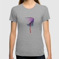 Nose #2 Womens Fitted Tee Athletic Grey SMALL