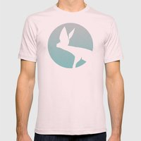 Hunting Mens Fitted Tee Light Pink SMALL