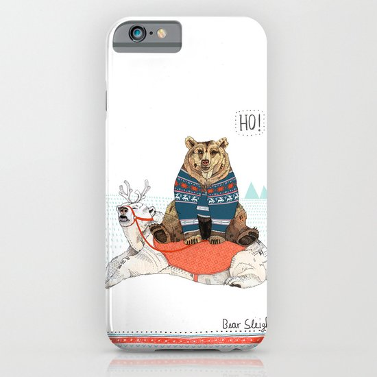 Bear Sleigh iPhone & iPod Case