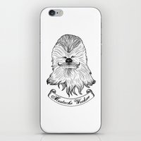 Mustache Wookiee iPhone & iPod Skin