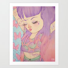 sea ♆ babe  Art Print