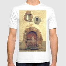 The red door Mens Fitted Tee White SMALL