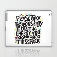 TAKE RESPONSIBILITY Laptop & iPad Skin