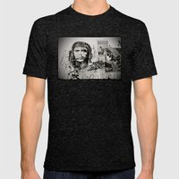 CHE Mens Fitted Tee Tri-Black SMALL