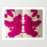 Rorschach Series  Art Print