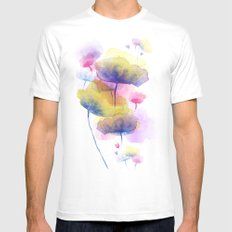 Ground up Mens Fitted Tee White SMALL