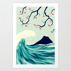 Falling in love 2 Art Print
