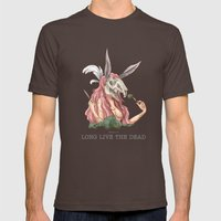 Long Live The Dead - Rab… Mens Fitted Tee Brown SMALL