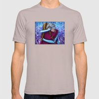 Anna And Elsa ~Frozen Mens Fitted Tee Cinder SMALL
