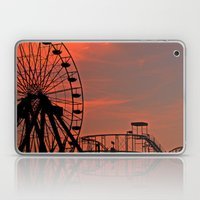 Sundown In Fun Town Laptop & iPad Skin