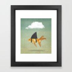 Brilliant DISGUISE - UNDER A CLOUD Framed Art Print