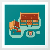 Beijing Icon Art Print