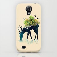 Galaxy S4 Cases featuring Watering (A Life Into Itself) by Budi Kwan