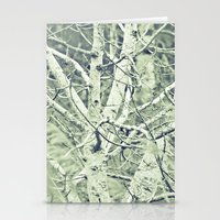 Silver Trees Stationery Cards