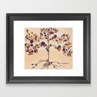 :: Family Tree :: Framed Art Print