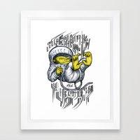 - Jou Are A Space Monkey - Mr.Klevra Framed Art Print
