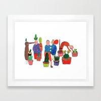 Bichinhos. Framed Art Print