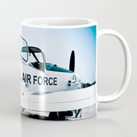 US Air Force Airplane Mug